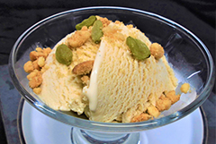 マスカット風味烏龍茶のアイスクリーム